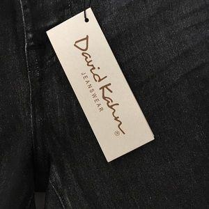 David Kahn Jeans - David Kahn | Metallic Nikki Skinny Bootcut JeanA13
